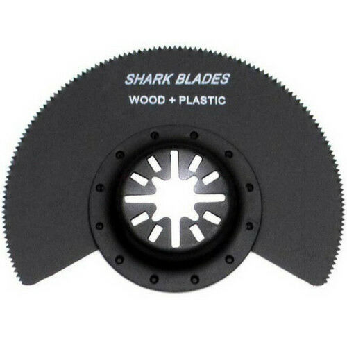 Shark Blades Segmented Wood Plastic cutting Multitool blade 84mm Universal Fit