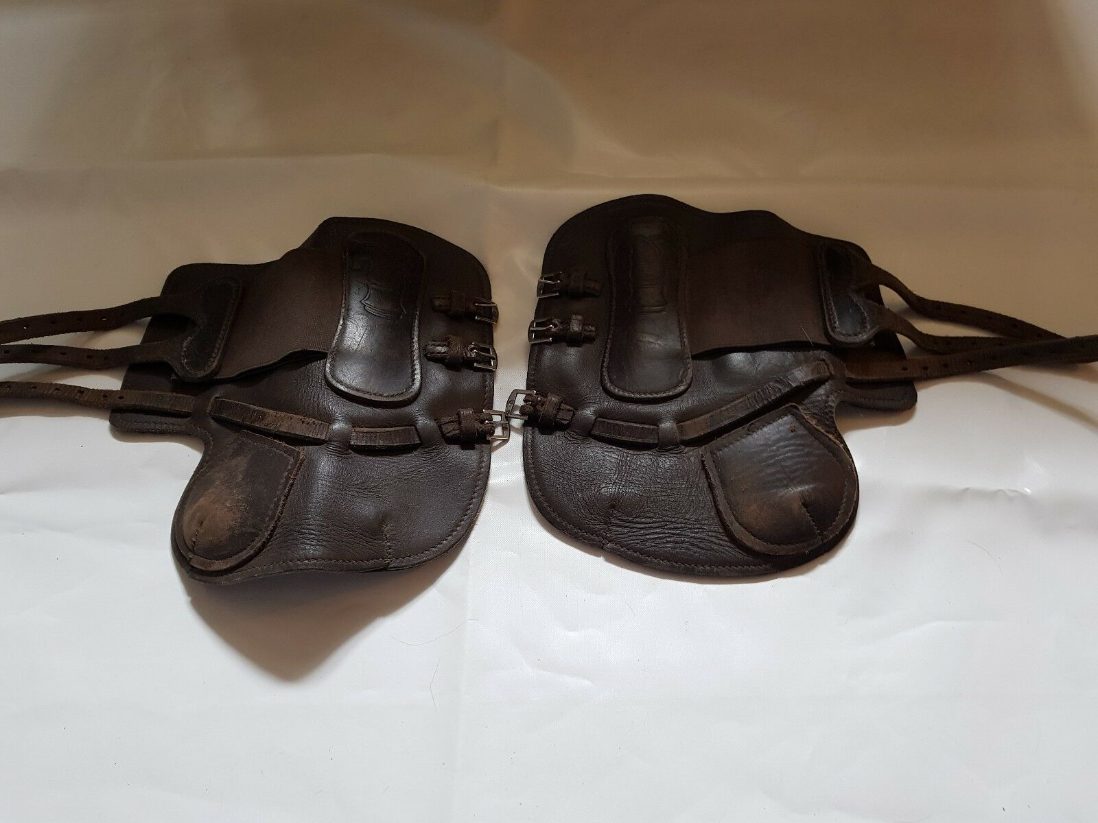 Sabre Brown Leather Tendon Boots
