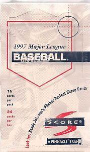 1997-SCORE-BASEBALL-BOX-LOOK-FOR-RANDY-JOHNSON-PITCHER-PERFECT