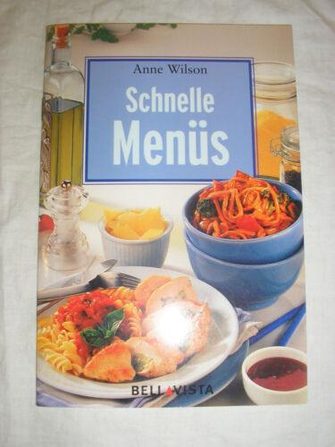 1 von 1 - Anne Wilson - schnelle Menüs - Buch | gebraucht