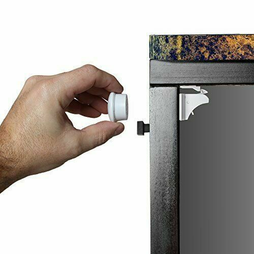 2 Keys No Tools Or Screws Dokon Child Safety Magnetic Cupboard Locks 10 Locks