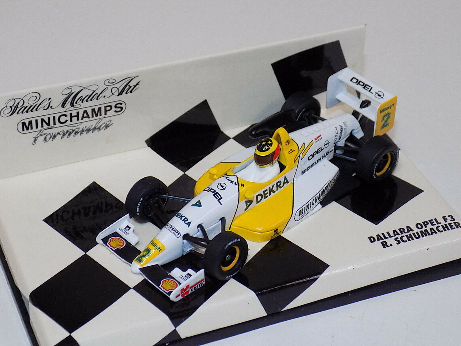 1  43 Minichamps F3 Dallara Opel 1994 Ralf Schumacher