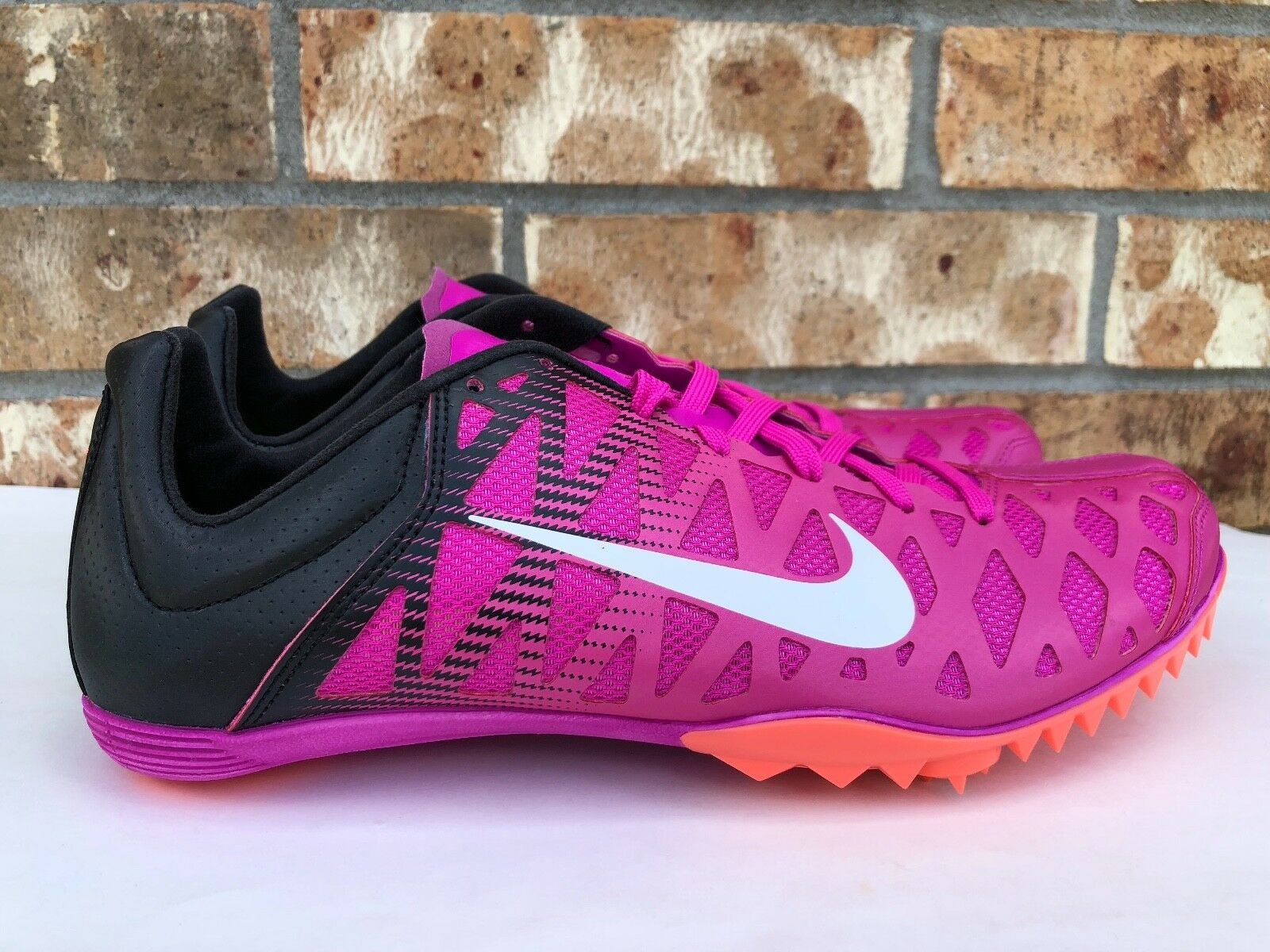 Men's Nike Zoom Maxcat 4 Track Spikes Running Pink Black Size 10 549150 601