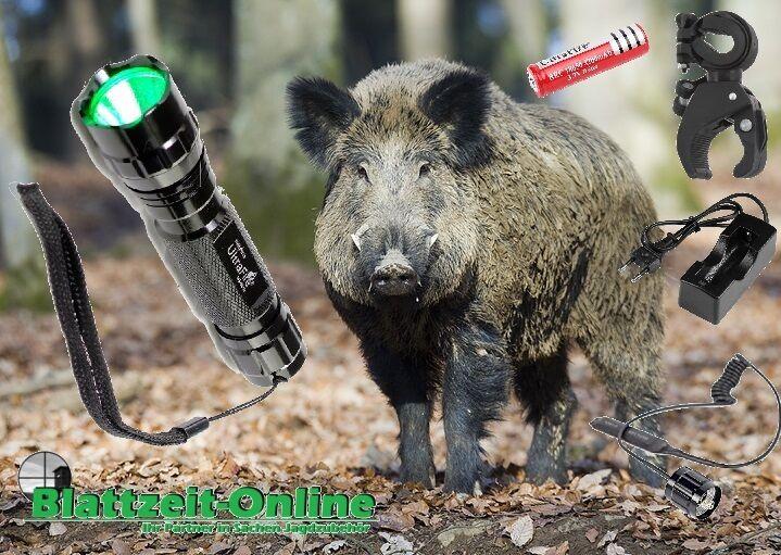 ⚠️ Jagd Lampe Taschenlampe grünes Licht grünlicht Nachtsichtgerät Zielfernrohr