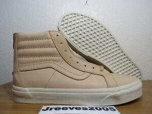 32a7f99914 Vans SK8 HI Reissue Zip DX Veggie Tan Leather Sz 9.5 (womens 11) 100 ...