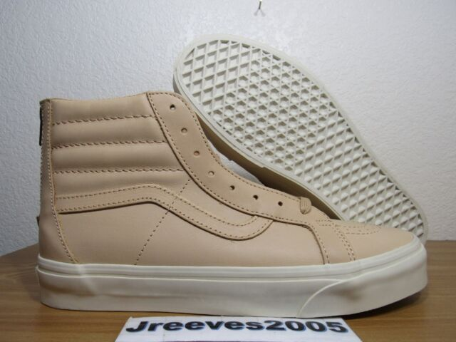 2a41d234d6 Vans SK8 HI Reissue Zip DX Veggie Tan Leather Sz 9.5 (womens 11) 100