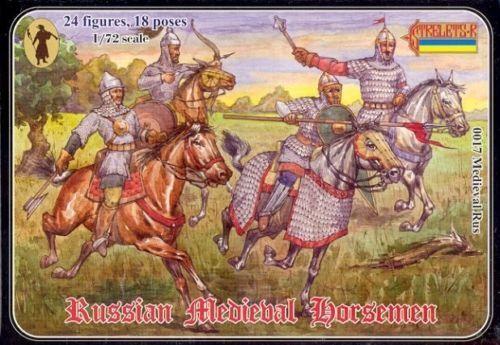 ✔️1//72 CAVALIERI RUSSI MEDIEVALI strelets 0017 medieval rus horsemen russian