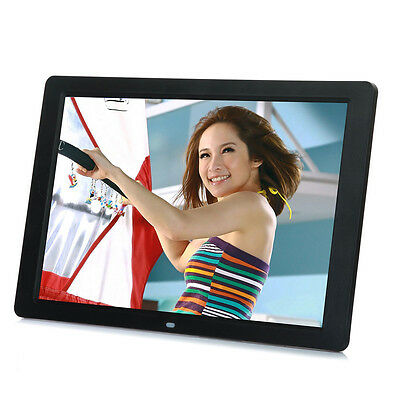 AnpassungsfäHig New 15 Inch Hd Led Digital Photo Picture Frame Mp3 Mp4 Movie+remote Control Mu