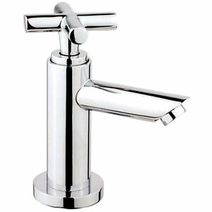 Extrem Gäste WC Wasserhahn Kaltwasser Armatur Standhahn + Leitung NL68