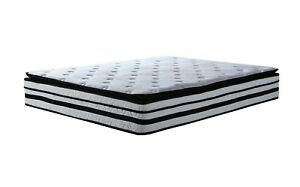 13 Inch Hybrid Innerspring And Memory Foam Mattress With Pillow Top