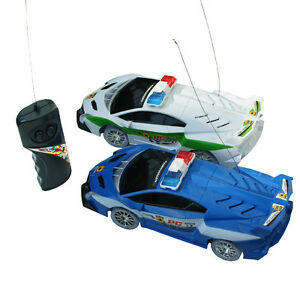 bambini della dei elettrico di della della polizia della polizia Rc macchina con polizia Giocattolo 2EDI9H