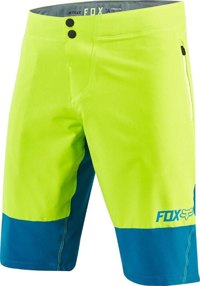 Fox Altitude Bike Shorts Teal 2017 Size 38