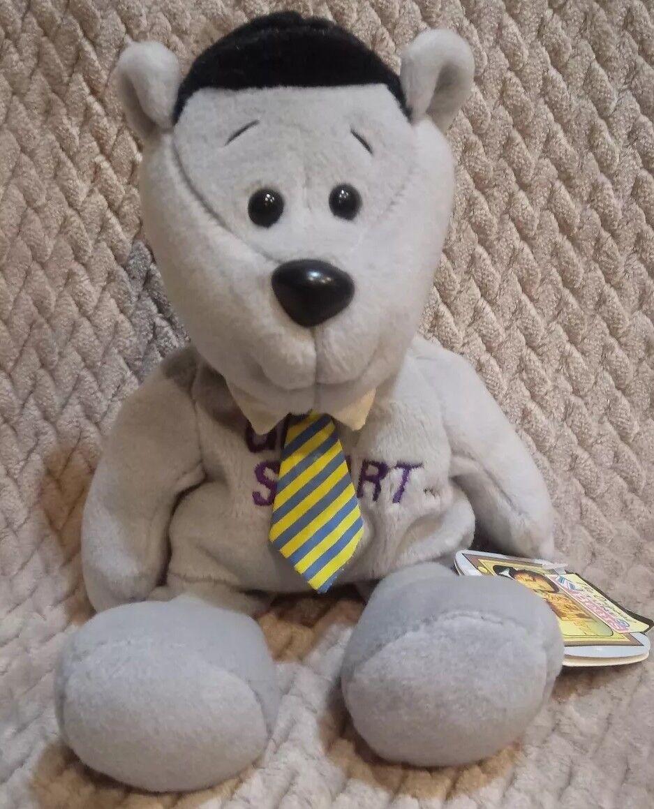 Rare Get Smart Original Tunes Bear Musical 10  Soft Toy Plush Stuffed Animal B64