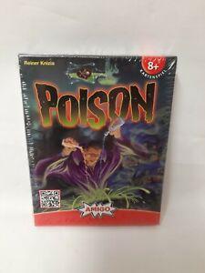 Poison-de-Reiner-Knizia-juego-de-cartas-amigo-nuevo-en-el-embalaje-original