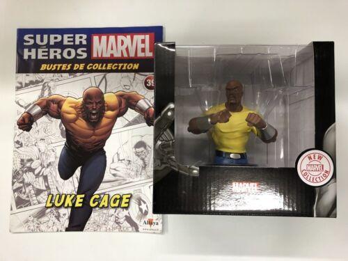 fascicule certificat neuf luke cage Marvel buste de collection