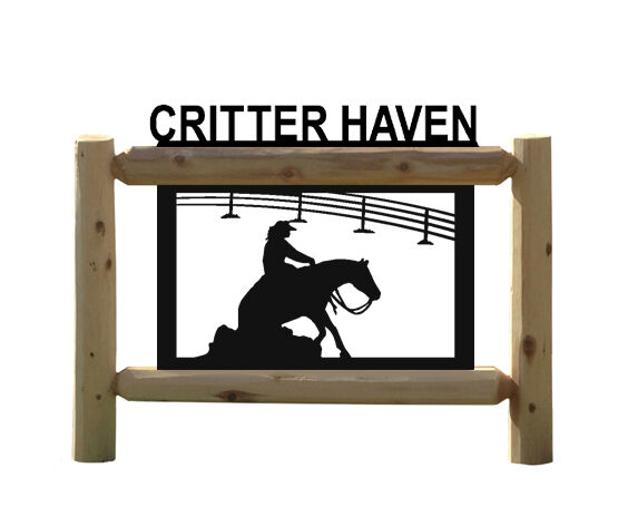 REINING HORSES   -RODEO SIGN - OUTDOOR SIGNS - EQUESTRIAN - HORSE SIGNS  outlet online store