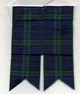 Adult-Scottish-Kilt-Hose-Flashes-Garters-Tartan-amp-Patterns