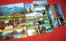 5 Postkarten Ostallgäu Bad Faulenbach Oberstdorf Füssen 1976..89 color (974)