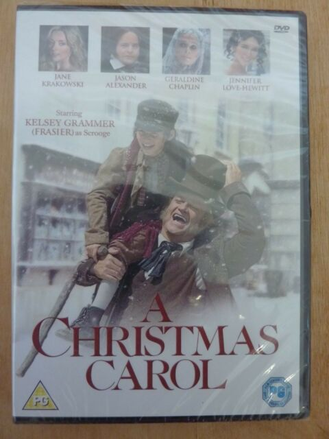 A CHRISTMAS CAROL. DVD NEW & SEALED KESLEY GRAMMER