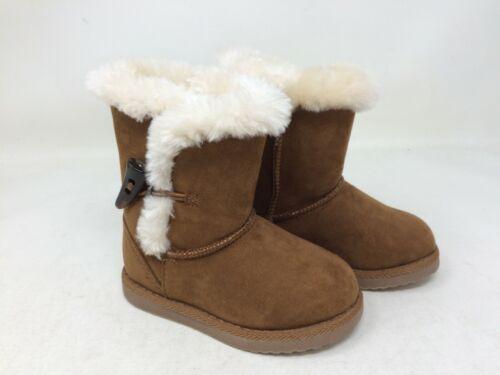 New!! Girl/'s Toddler Cherokee Jaycee Boot Chestnut B35