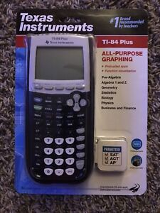 Texas Instruments TI-84 Plus All Purpose Graphing Calculator - Black