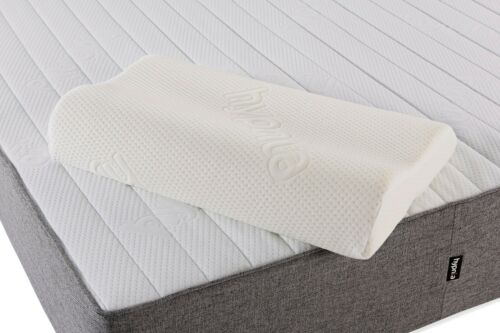 GENEROUS SIZE LUXURY MEMORY FOAM CONTOUR PILLOW WITH FREE COOLSOFT COVER