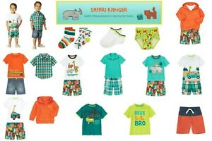 4T 18-24mos NWT Gymboree Gone Surfin Outfits /& Pieces Sz: 3-6 3 2T 3T 6-12