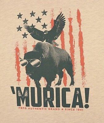 Murica Eagle Charcoal Mens T-Shirt Dark Gray