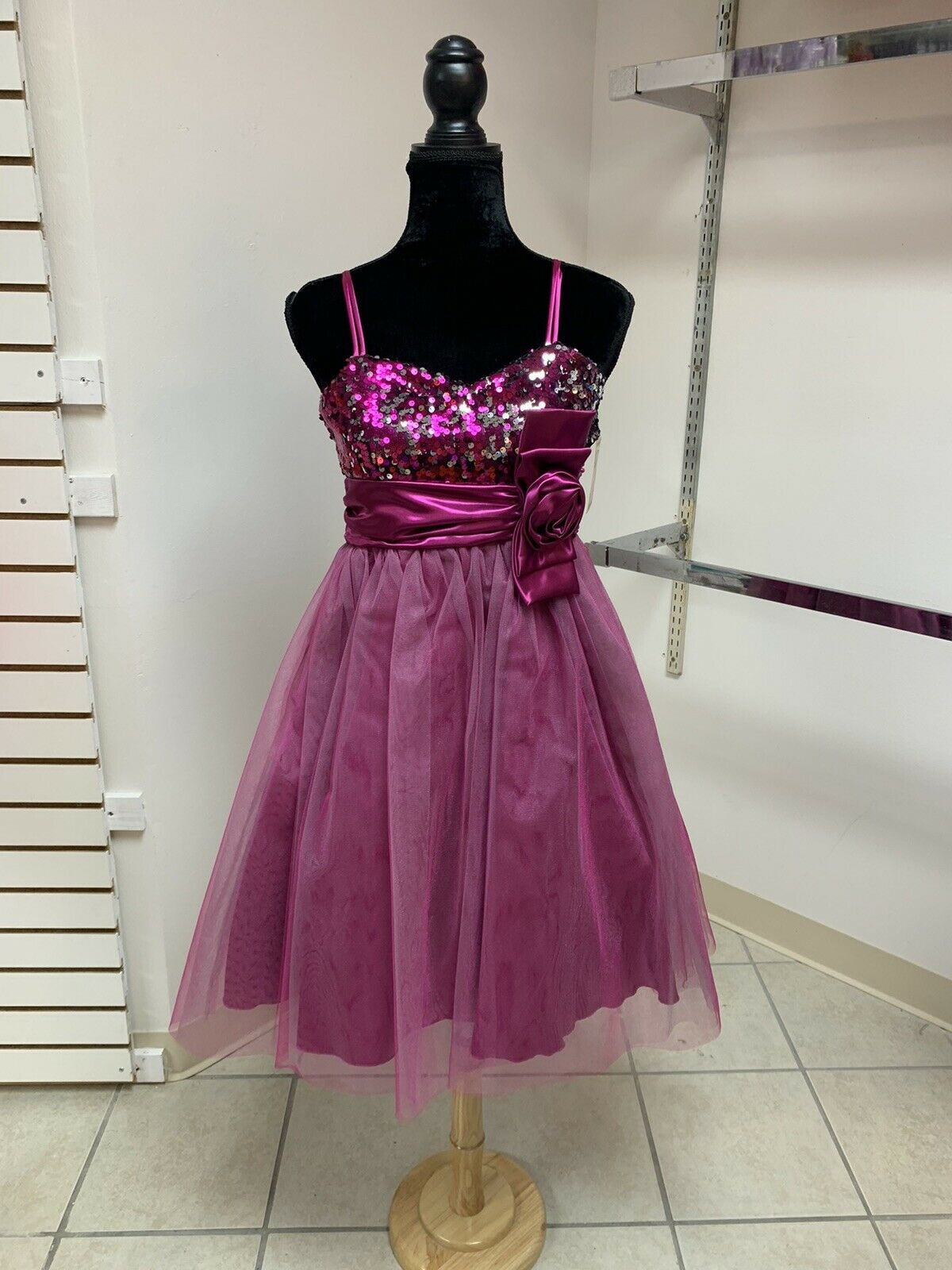 14 Easter Pageant Crowning Flower girl Special Occasion Dance Formal Dress NWT