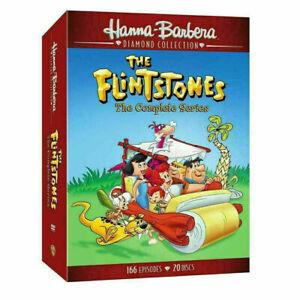 The Flintstones - The Complete Series Seasons 1- 6 (DVD, 2018, 20-Disc box Set)