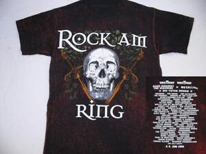 Rock-am-Ring-2008-Skull-amp-Swords-T-Shirt-Size-S-Neu