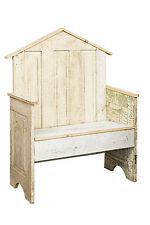 GARDEN DISPLAY BENCH  Repurposed Antique Farmhouse Door Furniture USA Handmade