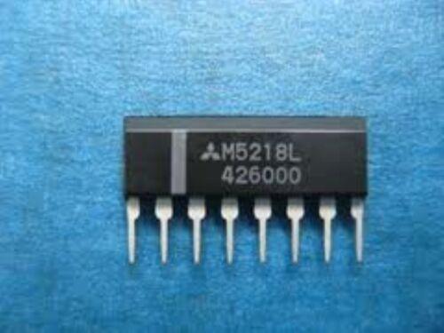 5 pcs MIT M5218L SIP OP-AMP DUAL BIPOLAR SIP