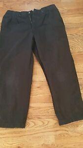 Mens-Austin-Clothing-Co-Pants-38W-30L-Black-RN98223