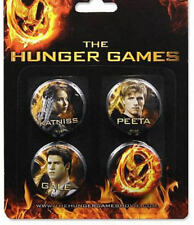 New Hunger Games Catching Fire 4 Pin Set