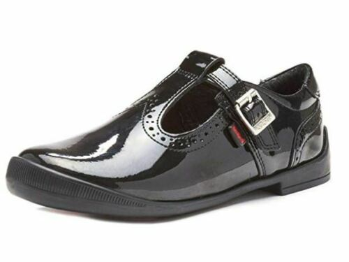 Kickers Bridie Brogue T Patent IF Girls Shoes