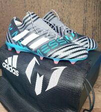 728131c1499a Adidas Nemeziz 17 Agility Messi 17.1 FG Soccer Cleats Sz 9.5 Futbol Boots  CP9028