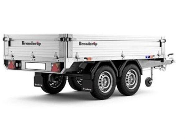 Trailer, Brenderup 4260 ATB, lastevne (kg): 990