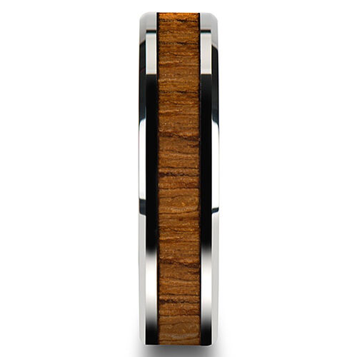 LX/_ EG/_ Men/'s Women/'s Creative Wide Band Wood Titanium Steel Ring Size 6-12 Sa