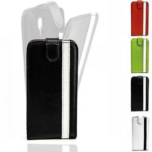 Style-Flip-Case-Handy-Tasche-Schutz-Hulle-Klapp-Etui-Hard-Cover-Ober-Schale-Bag
