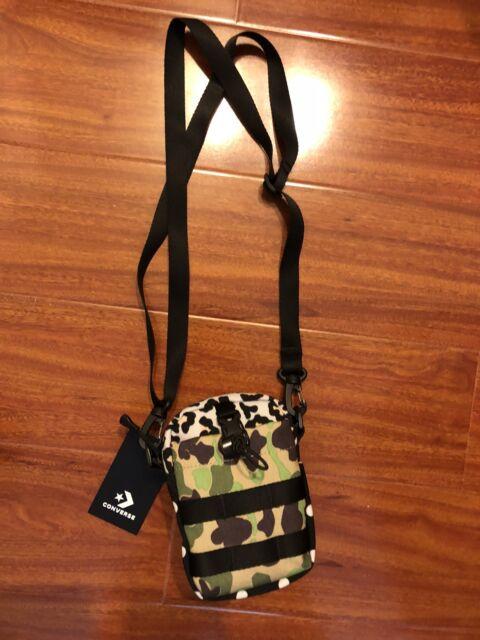 CONVERSE X BRAIN DEAD COMMS POUCH BLACK BRAND NEW IN HAND Shoulder Bag 527c6bb09da8b