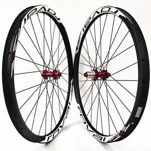 29er-MTB-carbon-Fiber-wheels-Asymmetrical-33mm-mountain-bike-wheelset-M42-hub