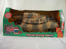 GI Joe Patriot Grizzly Tank