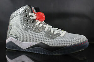 Details about JORDAN SPIKE FORTY PE 807541 101 WHITE FIRE RED BLACK SIZE: 10