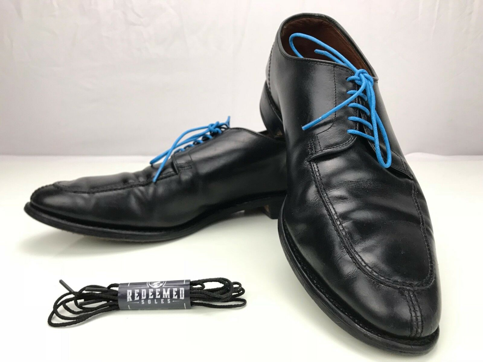 Allen Edmonds Lasalle Apron Split Toe - Black Leather Dress shoes USA Mens Sz 12D