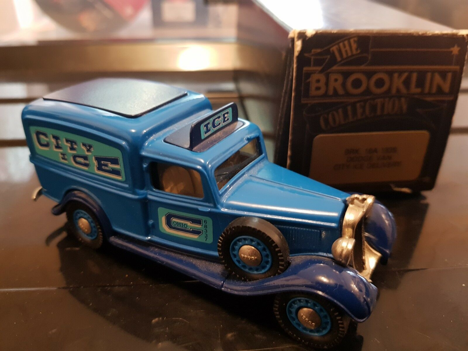 Brooklin Collection brk 16a 1935 Dodge Van City Ice Delivery