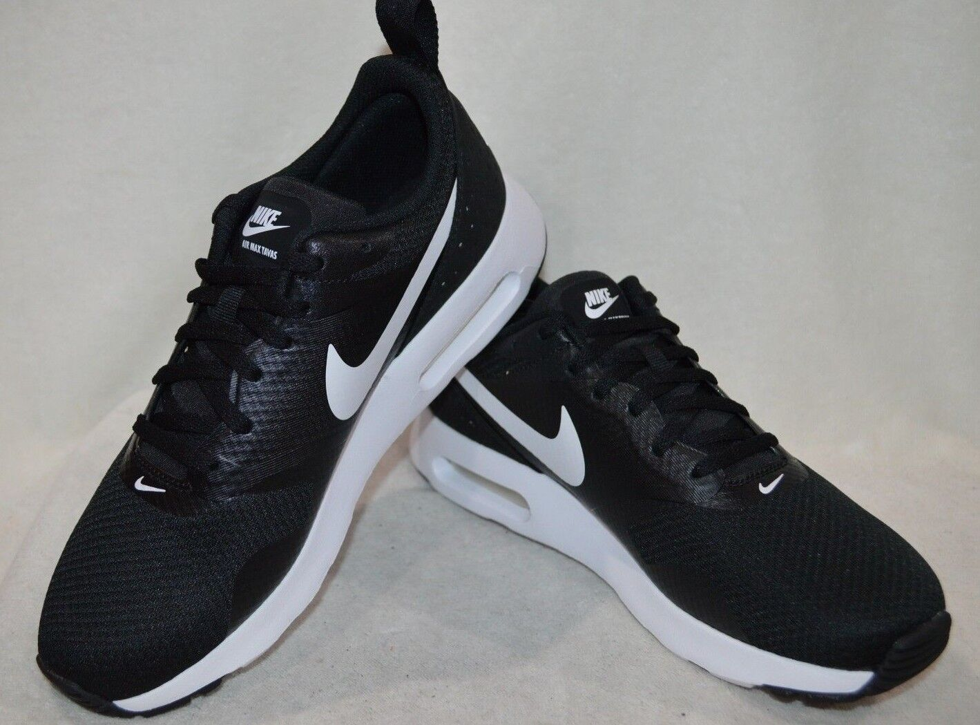 Nike Air Max Tavas Black White Women's Running shoes - Assorted Sizes NWB