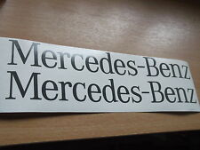 MERCEDES BENZ SPRINTER  back door Replacement decal Sticker x2