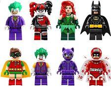 DC Batman Lego Movie Custom Mini Figures Set of 8 - fit Lego