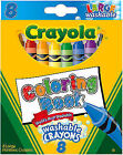 Crayola 3280 Washable Ultra-clean Colormax Large Crayons 8 Colors